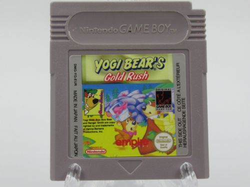 Yogi Bear's Gold Rush (Game Boy)